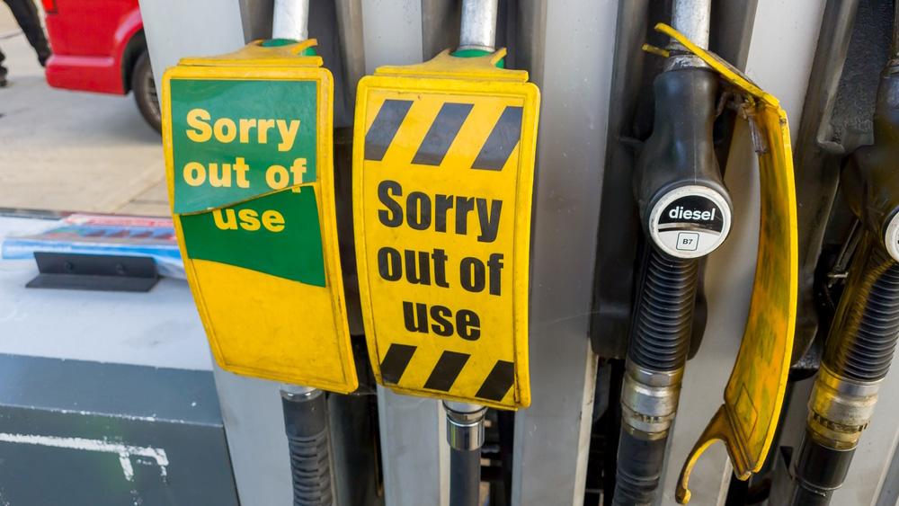 Energiekrise in Großbritannien: Benzin- und Dieselrationierungen angekündigt