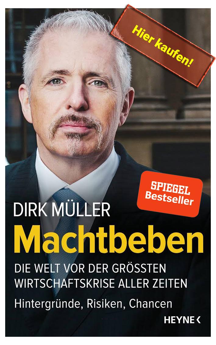 Neues Buch Machtbeben von Dirk Mr. Dax Müller